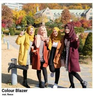 COLOUR BLAZER