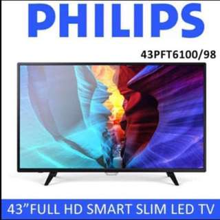 Philips smart 43 inch Full HD LED TV (Free 1 year warranty)