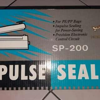IMPULSE SEALER/MESIN PRESS UTK PLASTIK
