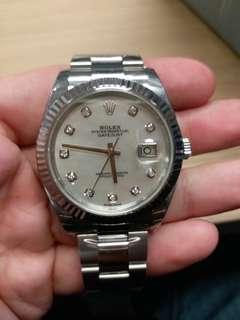 Rolex 126334G White mop