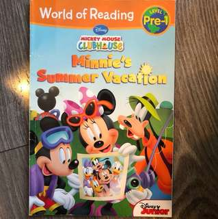 World of Reading Minnie's summer vacation