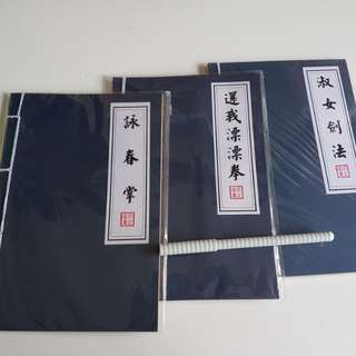 Notebooks with Chinese wordings