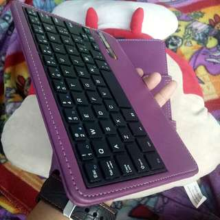Rechargeable Bluetooth keyboard for samsung tab 4
