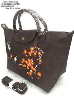 Longchamp bag size : 11*16 inches
