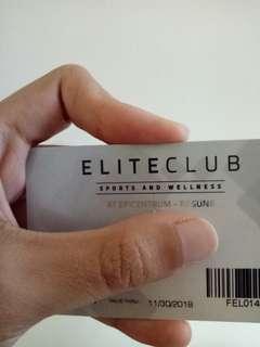 Elite Club Fitness Membership