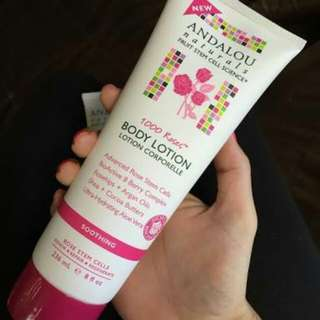 Andalou 1000 Roses Body Lotion