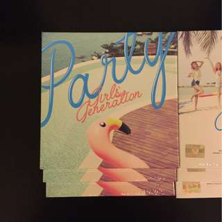 Girls' Generation - Party Single CD