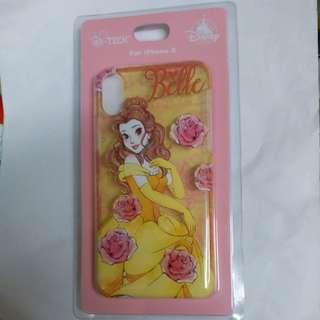迪士尼 Bella I phone x case 手機殼