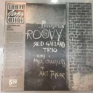 Red Garland Trio ‎– Groovy, Vinyl LP, Original Jazz Classics ‎– OJC-061, 1983, USA