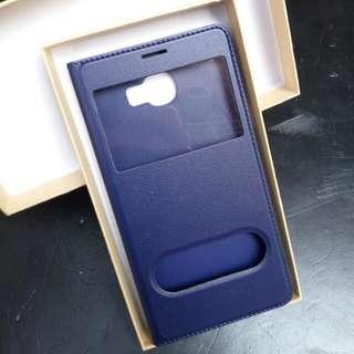 Samsung C7手機套+鋼化膜  超薄2mm 全新 翻蓋保護套  三星C7