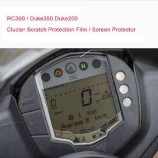 KTM RC/Duke Meter Screen Protector