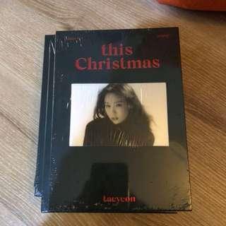 Ready stock Taeyeon This Christmad album