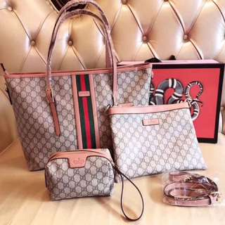 Gucci Bag 3in1 set