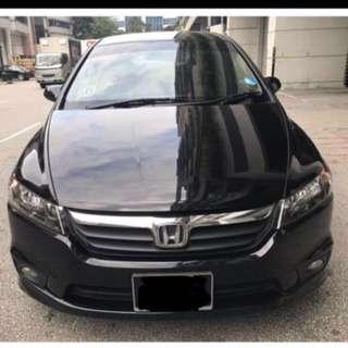 Honda Stream 1.8A for rent for uber/grab