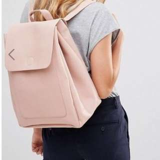New Look Minimal Backpack in Pink