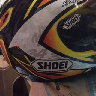 Shoei authentic/ original helmet