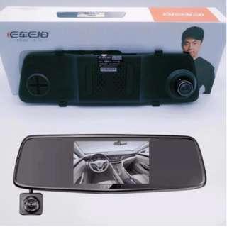 Tri Camera dash cam
