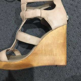 Kookai wedges size 38