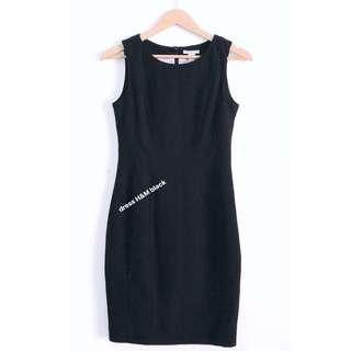 Office dress - H&M Black