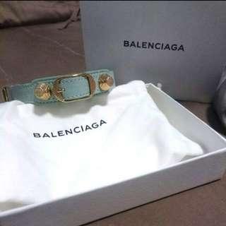 Authentic Balenciaga triple giant tour bracelet