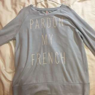 Pardon my French Jumper
