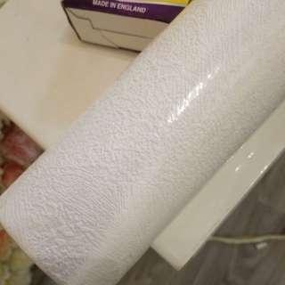 牆紙+槳粉