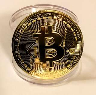 Bitcoin Commemorative Coins (With Case)