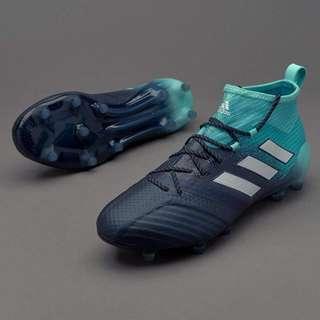 BRAND NEW Adidas Ace 17.1 FG - Energy Aqua/White/Legend Ink Soccer Boots US 8.5 UK 8