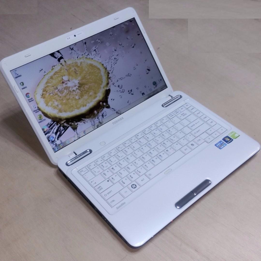 14.1吋 TOSHIBA L640 i5-M460 / 獨顯 WXGA 高亮度LED 鏡面寬螢幕 筆電!!