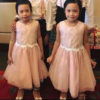 Twins flower dress