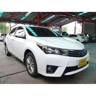 2015年 Toyota 豐田 Altis 1.8 白