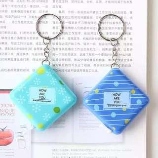 韓國文具迷你薄卡片式太陽能可愛學生財務計算器創意便攜小計算機