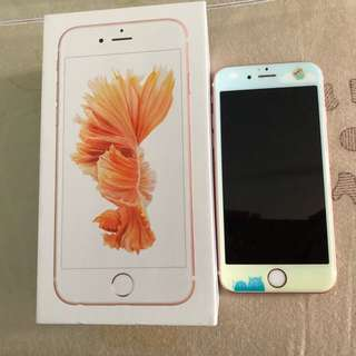 Iphone 6S 128GB Rose Gold 90% New 100% Work