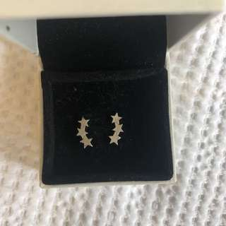 Karen walker star earrings