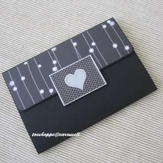 Long Wallet Scrapbook Card