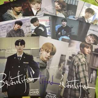 Official Wanna OnePoster set loose item