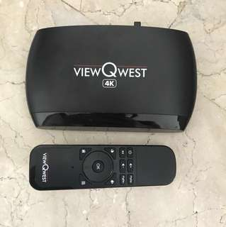 ViewQwest 4K Android box