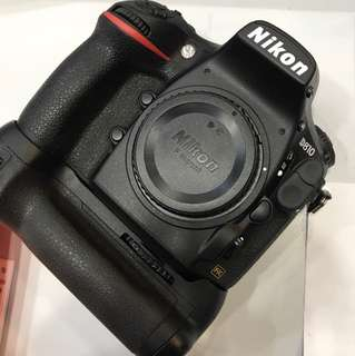 Nikon D810 Body SC:43K With MB-D12 Battery Grip.