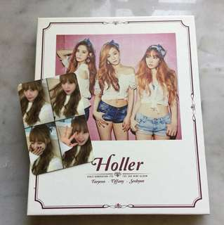 SNSD TTS - Holler Album