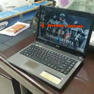 Laptop Acer Aspire 4741 core i5 intel