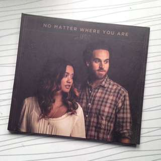 """SIGNED Us The Duo """"No Matter Where You Are"""" CD Album"""