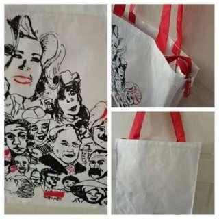 SG50 cloth tote bag