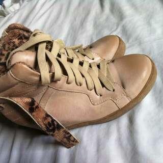 S&H leopard shoes