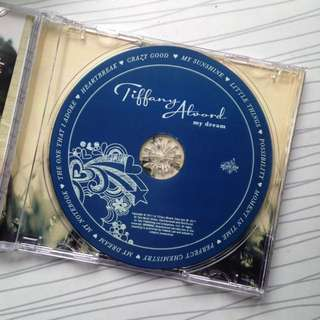 "SIGNED Tiffany Alvord's first album ""My Dream"""