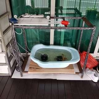 3 feet fish tank stand