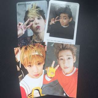 Bambam photocards.