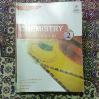 Chemistry matriculation