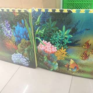 Eva Puzzle Mat for your Kids and baby Ocean
