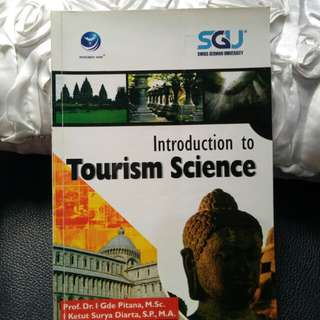 Introduction to Tourism Science -hospitality textbook