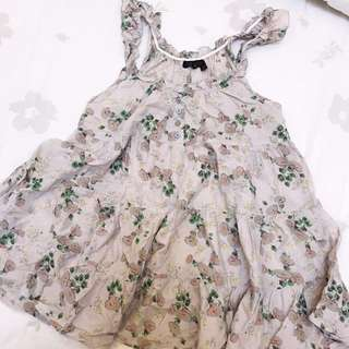 Topshop baby doll top